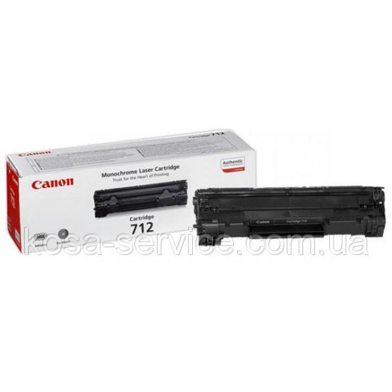 Заправка картриджа Canon 712
